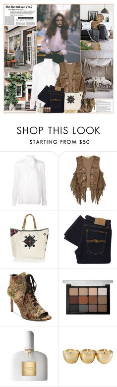 """Bohemian"" by kittyfantastica ❤ liked on Polyvore featuring Chloé, Hollister Co., Star Mela, Nudie Jeans Co., Nanette Lepore, Viseart and Tom Ford"