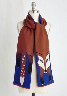 Outfox the Eye Scarf