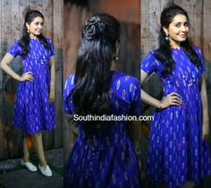 Raashi Khanna in Preetham Jukalker photo. Don't like the canvas though. Wish she wore a pair of good pumps.