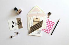 Graphic wedding design - modern, fabulous and FUN.