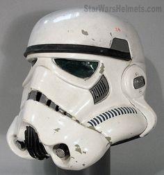 "Star Wars: Original ""A New Hope"" Stunt Stormtrooper Helmet"