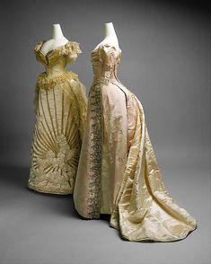 Mode au XIXe siècle : WORTH 1880s