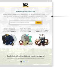 Prelaunch campaign 543.ro ecommerce fashion site