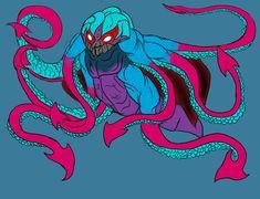 Kraken, Godzilla, Rey, Deviantart, Android, Monsters