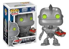 Funko POP! Movies The Iron Giant with Car Vinyl Action Figure 244
