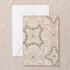 Vintage Antique Victorian Flourish Greeting Cards> Vintage Antique Victorian Flourish> Pattern Designs