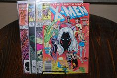 4 Uncanny Xmen and Xmen Comics from the  80s and by HobbyHaven, $4.99