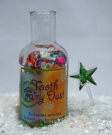 Tooth Fairy Dust - Lots of cute Toothfairy ideas to start your own traditions