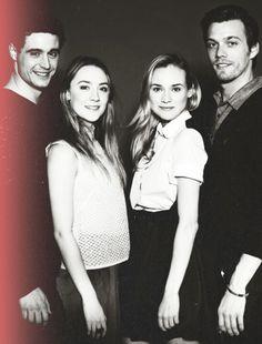 Max Irons, Saoirse Ronan, Diane Kruger and Jake Abel.