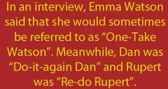 I can see this happening. The cast was either perfect for their characters, or the characters bleed into the actors.