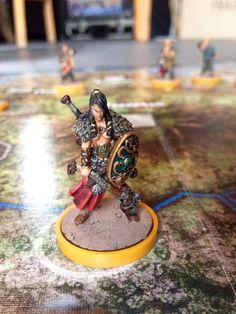 Guerrière du Clan du Serpent (Blood Rage)