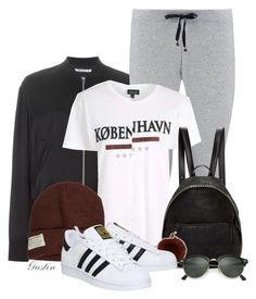 """""""casual fall"""" by stacy-gustin ❤ liked on Polyvore featuring T By Alexander Wang, Boohoo, Topshop, STELLA McCARTNEY, Yves Salomon, Krochet Kids, adidas, Ray-Ban, SimpleOutfits and ootd"""
