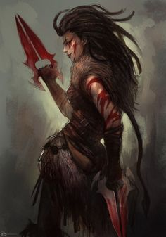 Badass D&D, ninjaticsart:   50mins SSF - topic - female...