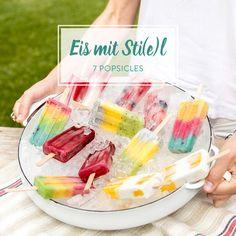 Voll im Trend! Brombeer-Ombré-Popsicles