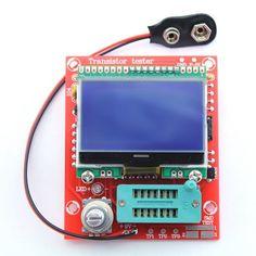 DIY M12864 Transistor Tester Diode Triode Capacitance ESR Meter MOS/PNP/NPN L/C/R Well Working