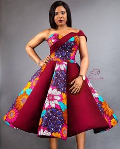 Kente Fabric Designs: See These Kente Styles For Fashionable Ladies - Lab Africa Short African Dresses, Latest African Fashion Dresses, African Print Dresses, Ankara Fashion, African Prints, African Inspired Fashion, African Print Fashion, Africa Fashion, Ankara Gown Styles