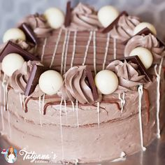 "Triple Chocolate Checkered Cake - Credit: Tatyana's Everyday Food ""Credit: Tatyana's Everyday Food Informations About Triple Ch - Easy Cake Recipes, Baking Recipes, Dessert Recipes, Baking Desserts, Easy Desserts, Cupcakes, Cupcake Cakes, Checkered Cake, Tatyana's Everyday Food"