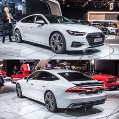 """The new Audi A7 - Car and Driver (@caranddriver) on Instagram: """"New @Audi A7 #A7 #midsize #luxury #design #technology #sedan #turbo…"""""""