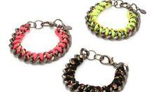 "Haute Betts ""Electric"" Chainlink Bracelet"