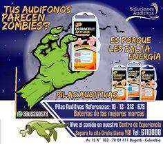 Pilas Auditivas Ref 10-13-312 y 675, realiza tu pedido por Whatsapp: 300 5260573 Domicilios en Bogotá