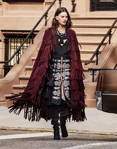 Amanda Murphy by Alique for The Edit October 2015  - Burberry Fall 2015 coat