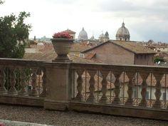 Terrazze romane....dai Giardini del Campidoglio. ..