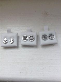 Chirurgenstahl Fake Plug (Axt, Schlagring , Anker) von piercingdiscount24 auf DaWanda.com