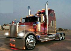 super tricked out KW (a Kenworth Hotrod ) www.youtruckme.com
