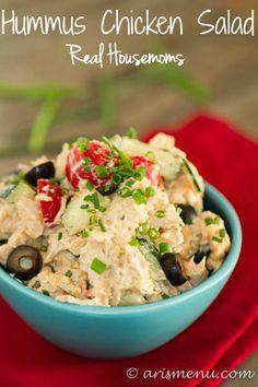 Hummus Chicken Salad   Real Housemoms