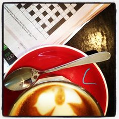 Photo by indigoangel13 ~ at Double Ristretto, Springwood, 2013.