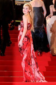 Zuhair Murad gown on the red carpet - Haley Bennett