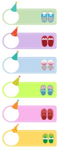 Planner Tabs, Name Labels, Name Stickers, Borders And Frames, Birthday Board, Childcare, Washi Tape, Diy And Crafts, Kindergarten