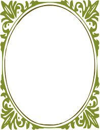 Image result for oval parchment frame borders