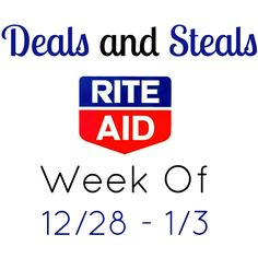 Learn to shop for free/cheap this week at Rite Aid. Deals include free Speed Stick, light bulbs, plus cheap Pampers, Crest and more!