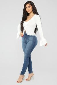 Available In White And BlueButton FrontRuffle TrimTiered Polyester, Rayon, SpandexMade in USA Heels Outfits, Girly Outfits, Sexy Outfits, Pretty Outfits, Stylish Outfits, Fashion Outfits, Pretty Clothes, Summer Outfits, Fashion Nova Models