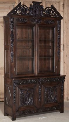 Antique French Renaissance Bookcase | Antique Bookcases | Inessa Stewarts Antiques