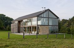 Barn House Limbourg in Yzel, Belgium by ARTAU Architectures