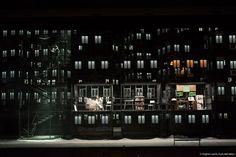 Alfons Flores designed the sets for La Bohème staged by Àlex Ollé of La Fura dels Baus.