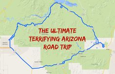 For all you thrill seekers out there, this is an Arizona road trip you won't want to miss.