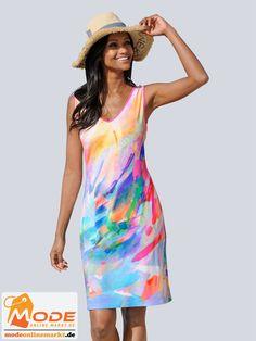 Lässiges Kleid im angesagt unkomplizierten Holiday Style Effektvoll gestaltet mit tollem pastelligem Druck in fei... #BAUR #AlbaModa #Rabatt #20 #Marke #Alba #Moda #Farbe #blau #Material #Elasthan #Viskose #Onlineshop #BAUR #Damen #Bekleidung #Damenmode #Kleider #Sale #Sommerkleider | sportliche Outfits, Sport Outfit | #mode #modeonlinemarkt #mode_online #girlsfashion #womensfashion Alba Moda, Sport Outfit, Mode Online, Cover Up, Dresses, Material, Fashion, Athletic Outfits, Printing