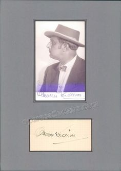 Krauss, Clemens - Signature and Photo