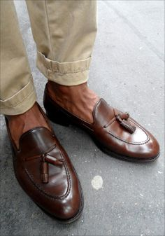 Tassel Loafers, Dress Loafers, Leather Loafers, Loafer Shoes, Loafers Men, Brogues, Dress Shoes, Fashion Mode, Fashion Shoes