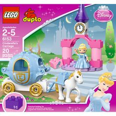LEGO DUPLO Disney Princess Cinderella's Carriage - a nice creative play princess toy #DisneyPrincessWMT