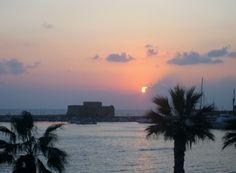 Castle in Kato Paphos harbour area