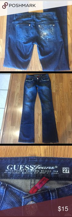 Guess Jeans Love these❤️❤️Good used condition Guess Jeans