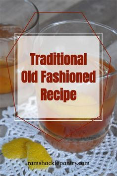 This traditional bourbon old fashioned recipe is sure to knock your socks off. This cocktail is a mixology dream and a flavor punch to your palate. All you need is some bourbon, a sugar cube, bitters, lemon, a splash of water and ice. Let's get this going! #bourbon #whiskey #oldfashioned #cocktail