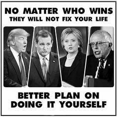 Regardless. #AnyoneOtherThanHillary #KillaryForPrison2016 by austinweiss