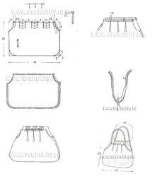 Genial...!!!!!!! Geniales ideas y algunas con patrón para reciclar jean en bolsos para todos los gustos y usos. ...