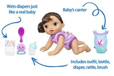Gift Guide: Best Interactive Baby Dolls that Can Talk, Cry and Wet Interactive Baby Dolls, Baby Alive, Bye Bye, Your Child, Gift Guide, Crying, Mermaid, Children, Young Children