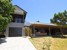 - 4 Bedroom House For Sale in Longships East - only one garage (space for more?) Nice, clean and simple - nice design. No views 4 Bedroom House, Cool Designs, Garage Doors, Houses, Space, Simple, Outdoor Decor, Home Decor, Homes